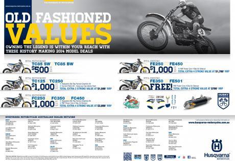 Husqvarna Motorcycles Promo