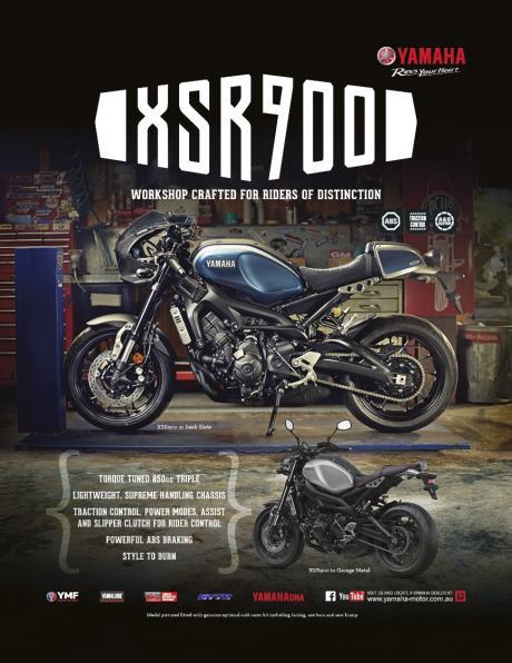 XSR900 Riders of Distinction